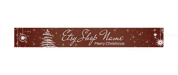 Christmas Etsy Shop Banner - 14