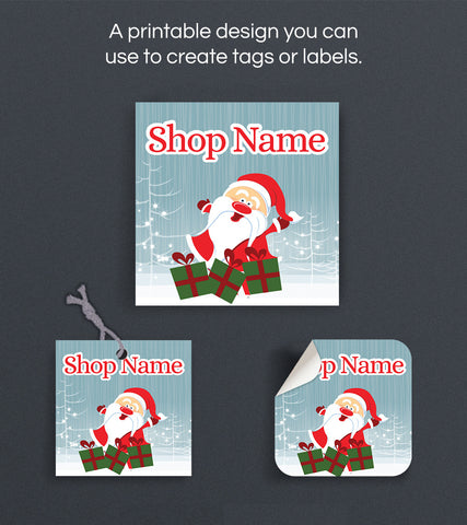 Christmas Label or Hang Tag Design - Christmas 143