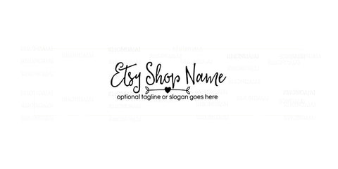 Arrow Etsy Shop Cover - Clean Etsy Cover Photo - Simple Etsy Cover Photo