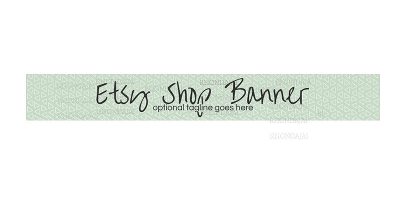 Etsy Banner -  Etsy Shop Banner - The Nancy Danials Collection