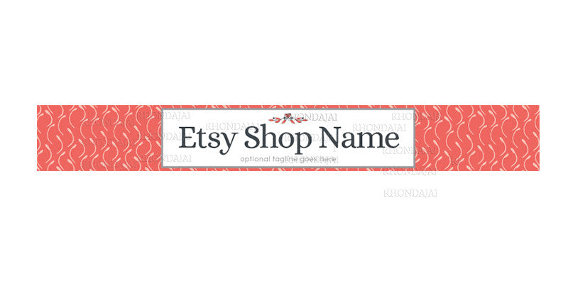 Etsy Banner -  Etsy Shop Banner - The Rebecca Mills Collection