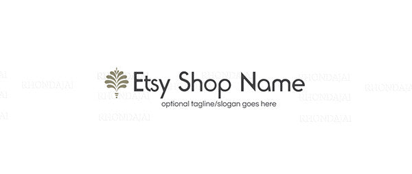 Logo Style Etsy Shop Banner 2 - The Laura James