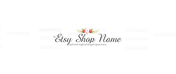 Logo Style Etsy Shop Banner 7 - The Veronica Danials