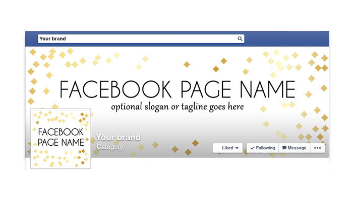 Audrey -  Facebook Timeline Cover with Profile Picture
