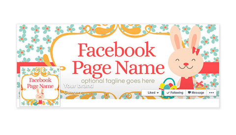Facebook Timeline Cover with Profile Picture - Easter Timeline Cover - Easter Facebook Timeline Cover - Easter 5