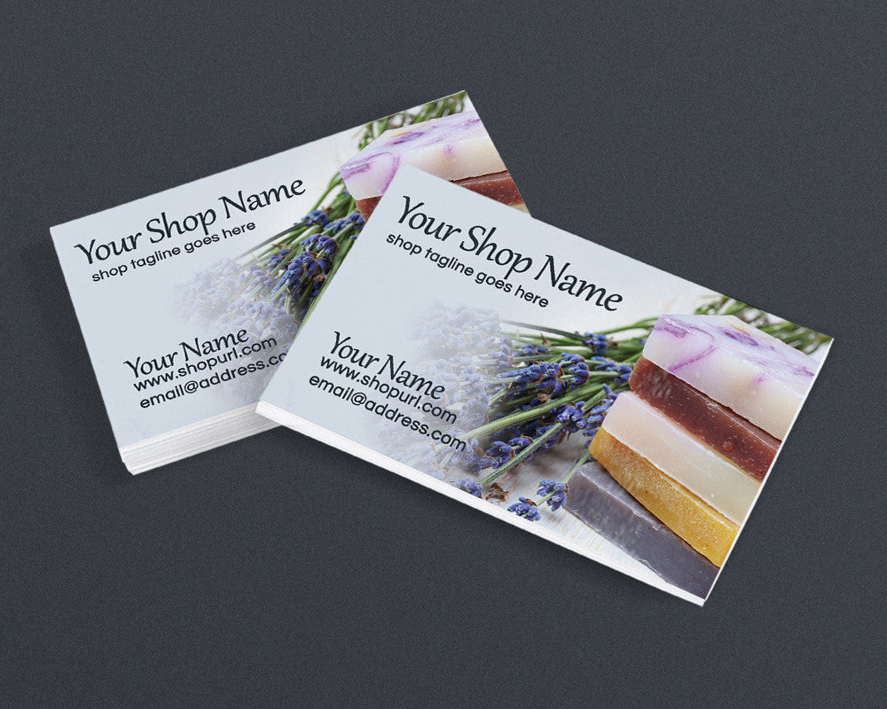 Soap 2 - PS - Printable Business Card Design