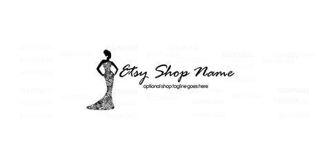 Etsy Shop Cover - Etsy Shop Cover - Glamour Girl 1