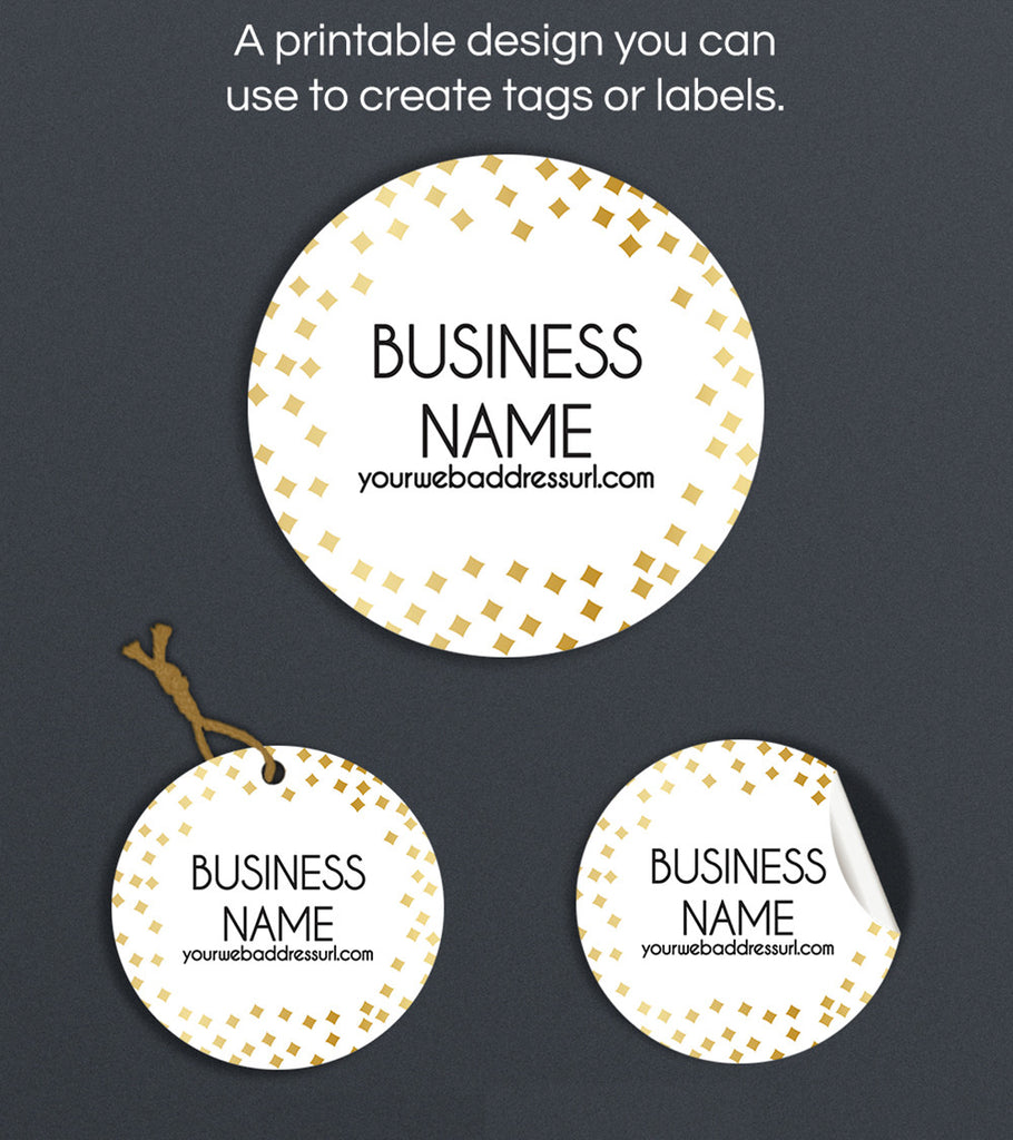 Label  or Hang Tag Design - Audrey