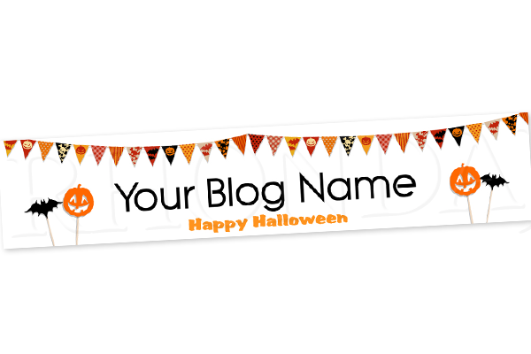 Blog Design - Halloween Header Banner - 1