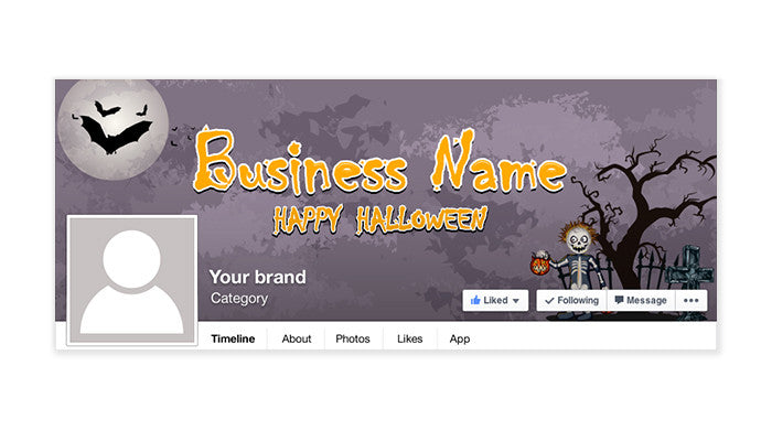 Halloween Facebook Timeline Cover - 8