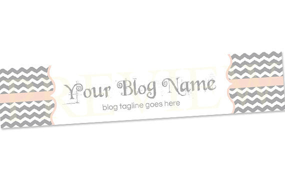 Blog Header Banner Design - Chevron A