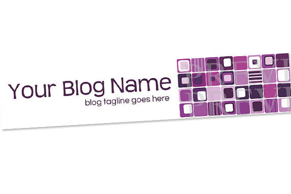 Blog Header Banner Design - Chic 20b