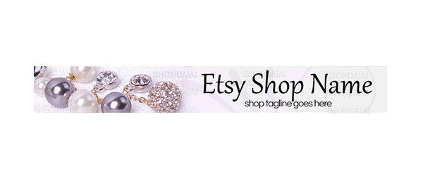 Jewelry 7 - Etsy Shop Banner