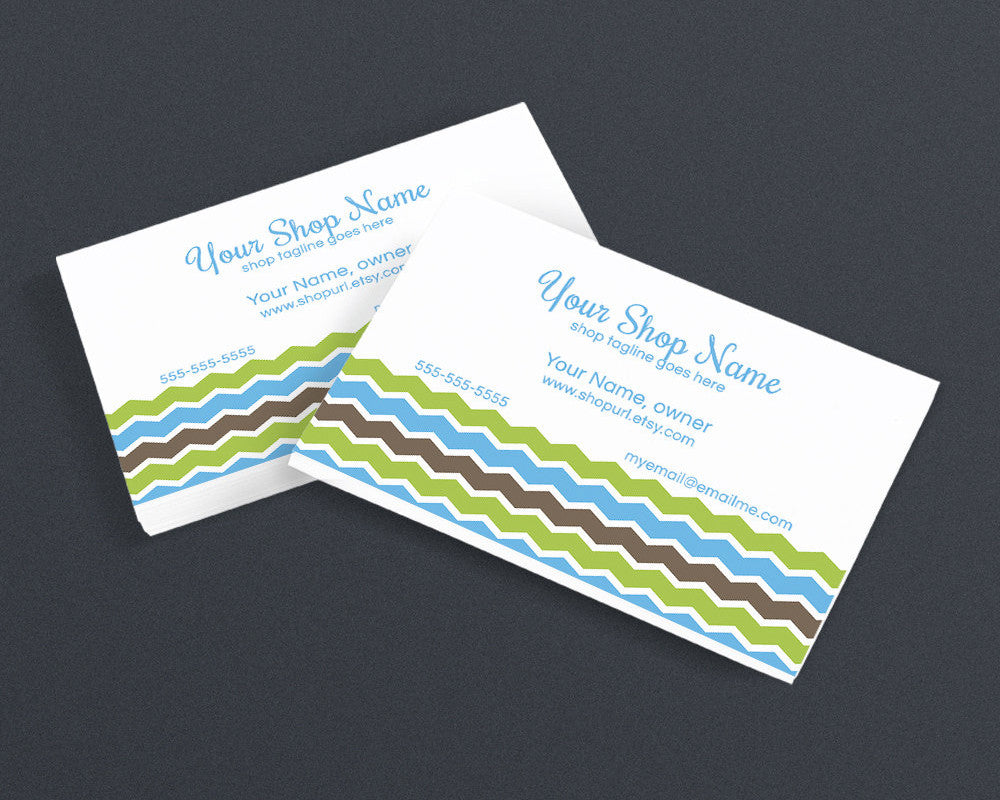 Chic 1 - 08 - Business Card Design