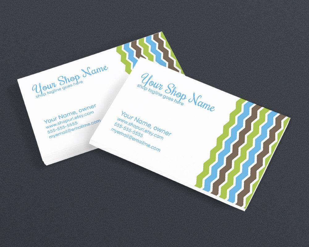 Chic 1 - 08b - Business Card Design