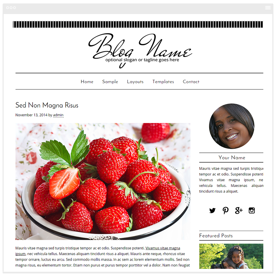 Camilla Blog Design - Mobile Responsive WordPress Theme - Genesis Child Theme and Framework