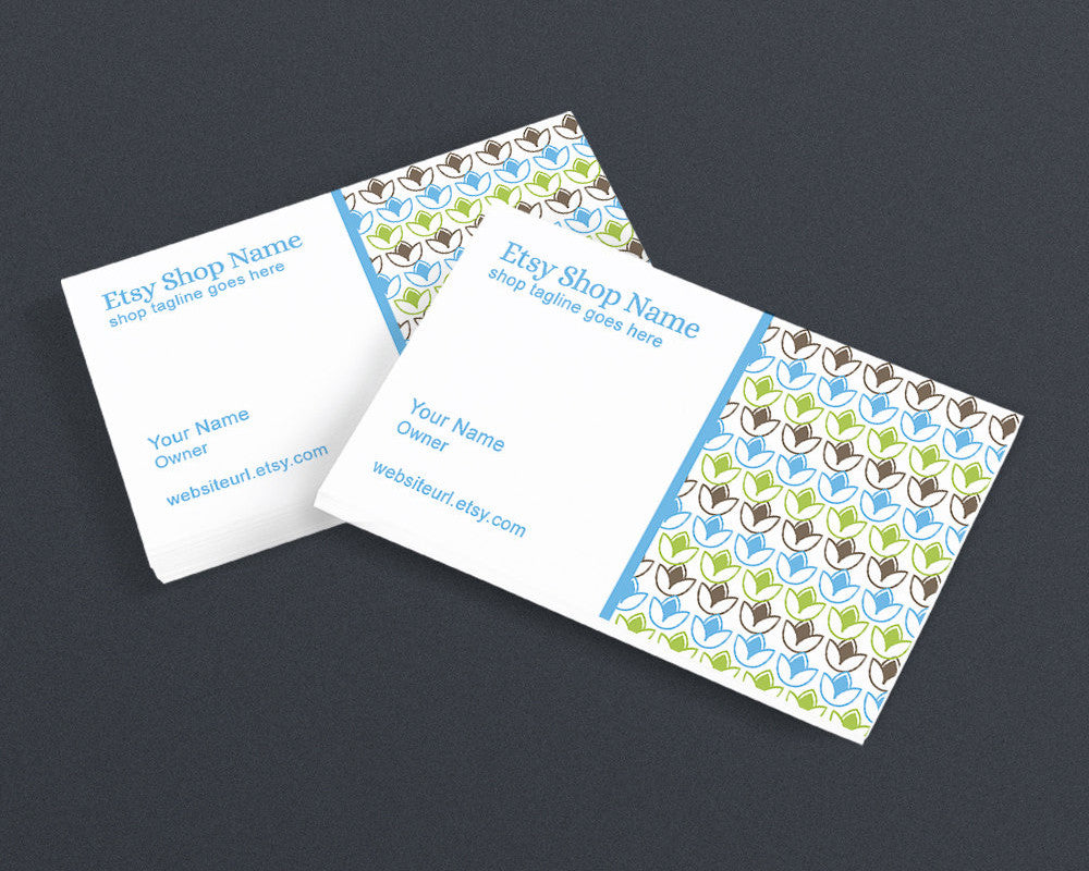 Chic1-03PS - Printable Business Card Design