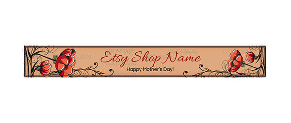 Etsy Shop Banner - Mother's Day 2