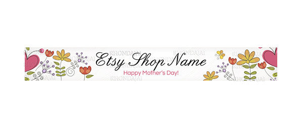 Etsy Shop Banner - Mother's Day 3