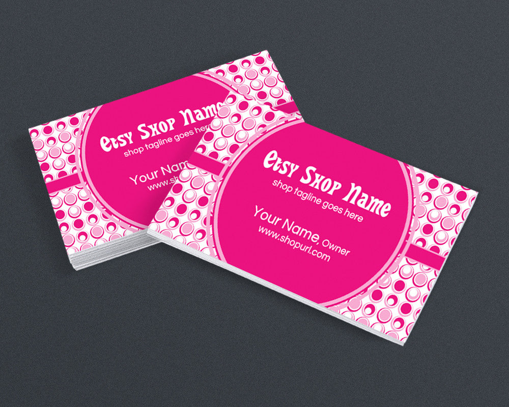 Fun 300 - Pink Business Card