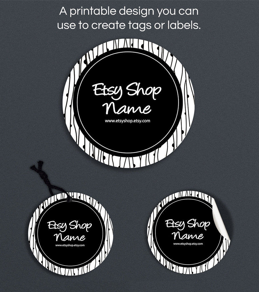 Label or Hang Tag Design - Avery