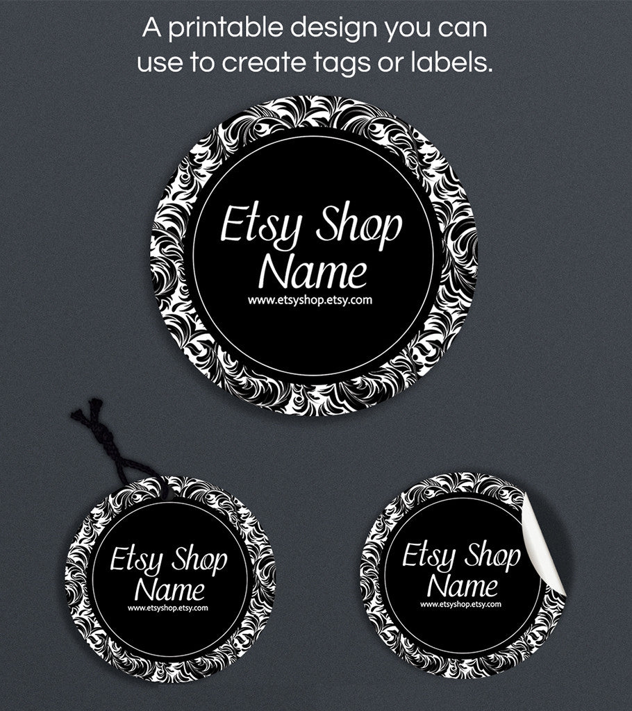 Label or Hang Tag Design - Mia