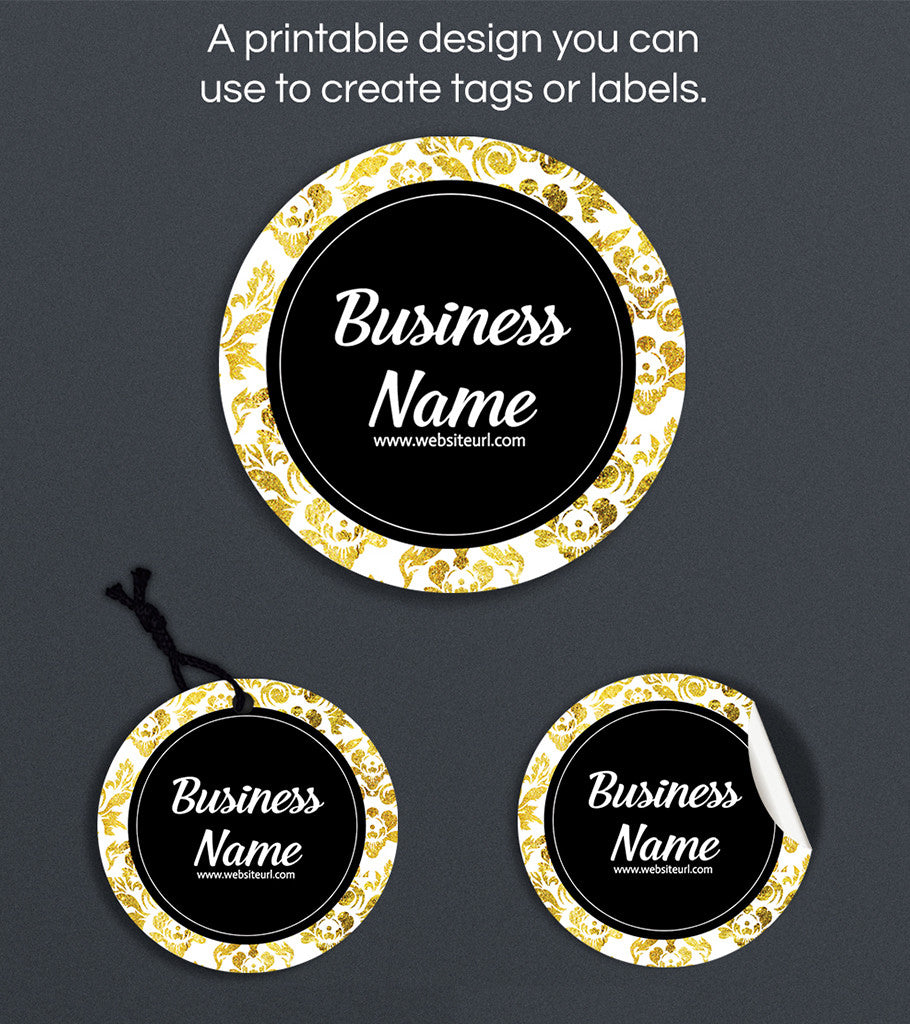 Label or Hang Tag Design - Harper