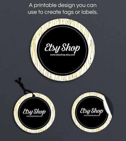 Label or Hang Tag Design - Abigail