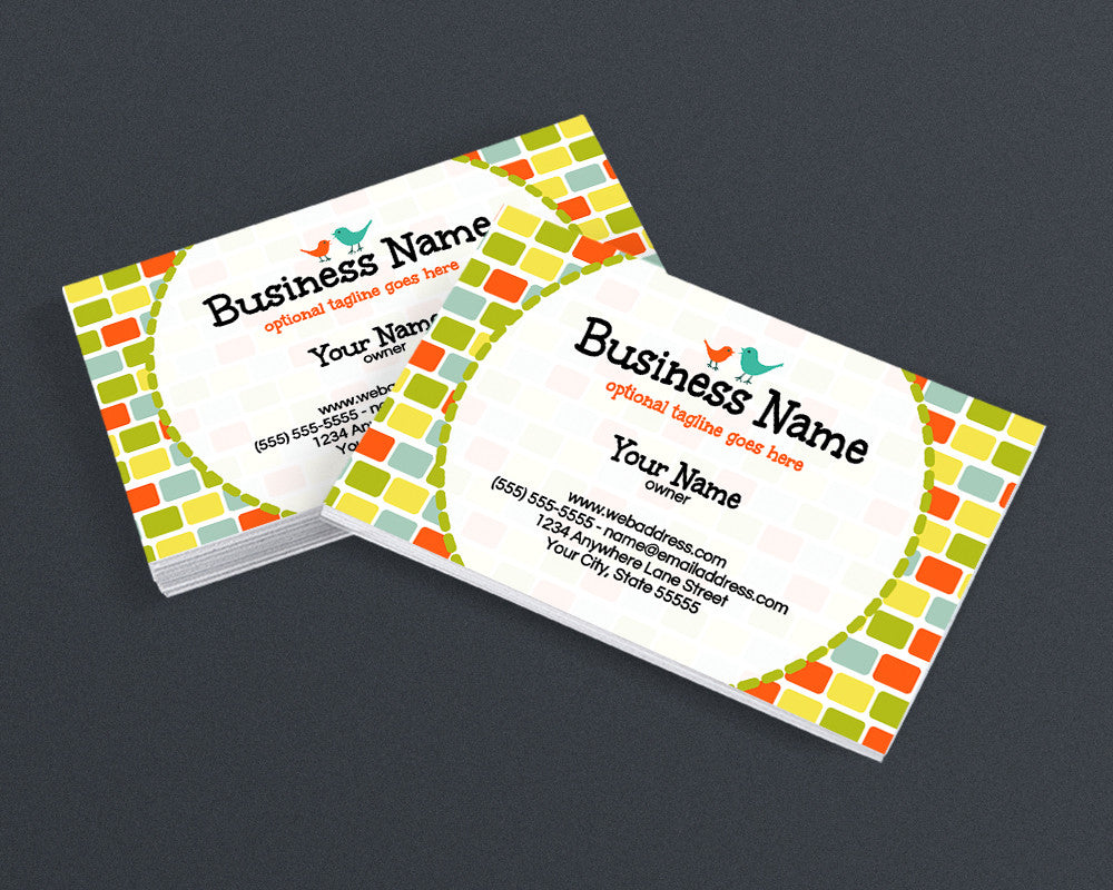 Birds 3 - Business Card Design