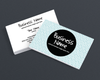 Modern Chic 5 - 2 Sided Business Card Design