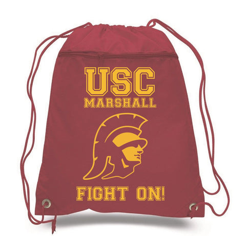 Marshall Fight On! Draw String Bag