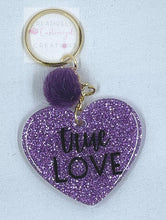 Load image into Gallery viewer, True Love Heart Keychain