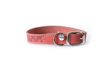 Load image into Gallery viewer, Euro Dog Soft Leather Dog Collar Elegant Style Adjustable Buckle Made in USA Affordable Luxury