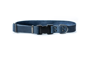 Euro Dog Soft Leather Dog Collar Sport Style Quick Release Buckle Made in USA Affordable Luxury