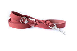 Euro Dog Soft Leather Braided Dog Leash Elegant Style Made in USA Affordable Luxury