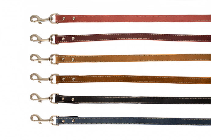 Euro Dog Soft Leather Dog Leash Made in USA Affordable Luxury