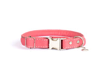 Load image into Gallery viewer, Euro Dog Soft Rolled Leather Dog Collar Quick Release Buckle Made in USA Affordable Luxury