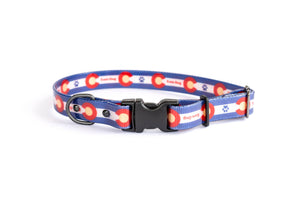 Euro Dog Waterproof Nylon Dog Collar Quick Release Buckle Durable Made in USA TPU Coated Affordable Luxury