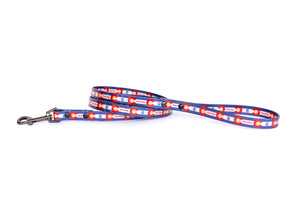 Euro Dog Waterproof Dog Leash TPU Coated Nylon Durable Made in USA Affordable Luxury