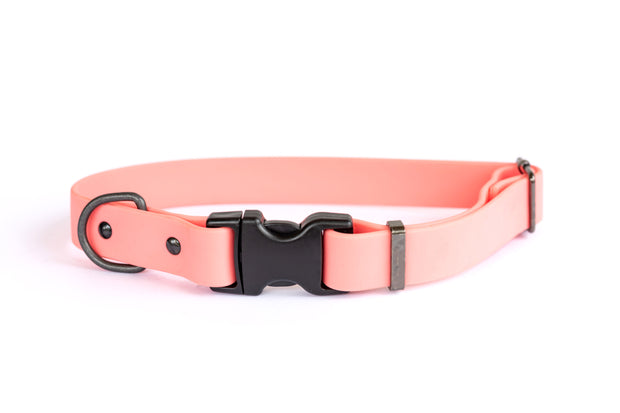 Euro Dog Waterproof Dog Collar Soft PVC Coated Nylon Quick Release Buckle Made in USA Affordable Luxury 1