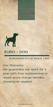 Load image into Gallery viewer, Euro Dog Soft Leather Dog Leash Made in USA Affordable Luxury