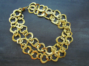 CLEOPATRA Gold 2 in 1 Necklace