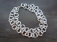 Load image into Gallery viewer, CLEOPATRA Silver 2 in 1 Necklace