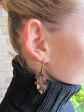 Load image into Gallery viewer, OAK LEAF Earrings