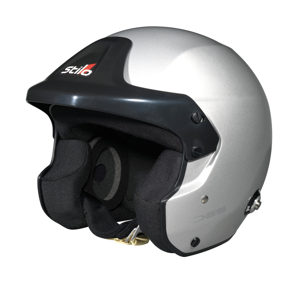 Load image into Gallery viewer, STILO Trophy DES Jet Composite Helmet - Snell SA2015 FIA 8859-15 FIA8858-10 Ready