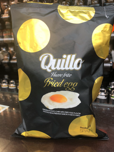 Chips au Goût d'Oeuf Frit Quillo