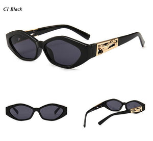 eprolo Accessorises-Glasses-Sunglasses-EyeWear-Designer Wear C1 Retro Cat Eye Vintage Fashion Sunglasses