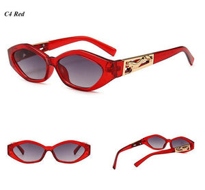 eprolo Accessorises-Glasses-Sunglasses-EyeWear-Designer Wear C4 Retro Cat Eye Vintage Fashion Sunglasses