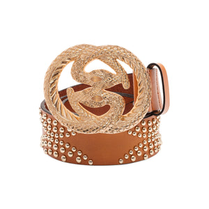 Baryte Belts Hand Crafted Snake Glam Belt