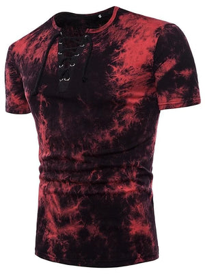 Sensationally Fabulous Clothing, mens, t-shirts, tops Red / S Camouflage T-Shirt